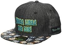 Rick and Morty Cap Wubba Lubba Snapback Blue