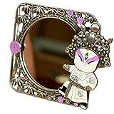 Chinesische Stil Peking Oper Make up Kosmetik Spiegel Kreative Ornament Spiegel-A03