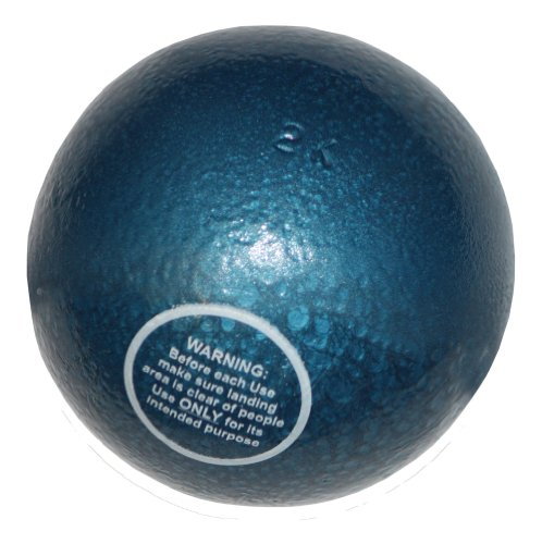 Peso da lancio in ghisa, 2 kg, Small Raindrop - palla getto del peso