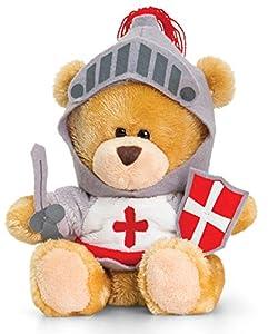 Plüschtier Bär, Pipp the Bear als Ritter, Kuscheltier Teddy angezogen,...