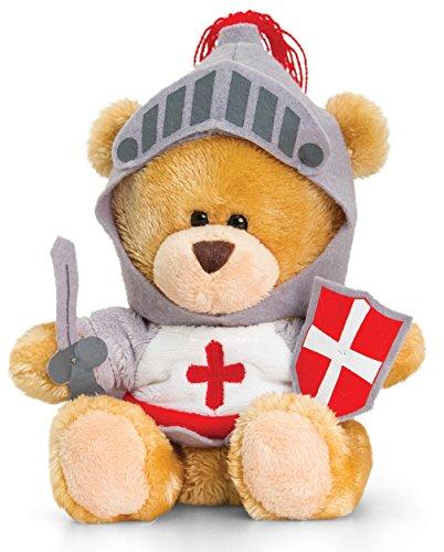 Plüschtier Bär, Pipp the Bear als Ritter, Kuscheltier Teddy angezogen, Teddybär mit Kleidung ca. 14 cm (Plüsch Bär Kostüm)