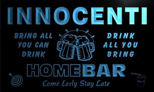 q21604-b-innocenti-family-name-home-bar-beer-mug-cheers-neon-light-sign