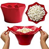 Best Poppers Popcorn - Coque en silicone Popcorn Seau, Nacola micro-ondes Popcorn Review