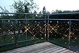 Best Season 491-11 System 24 LED-Lichtervorhang 2 x 1 m, 98-L - Extra, warm weiß