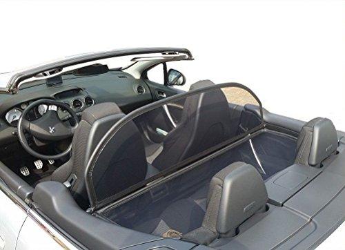 GermanTuningParts D/éflecteur de vent pour Renault megane 3 CC - Pliable D/éflecteur dair avec fermeture rapide /à partir du 2011 Beige Filet Anti-Remous Coupe