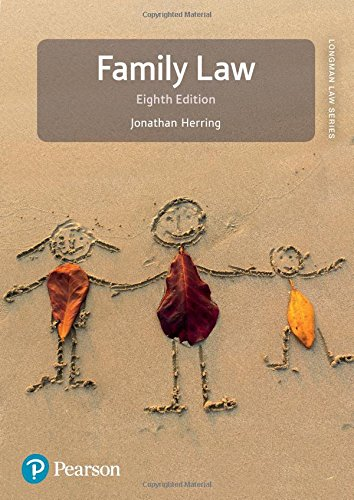 Family Law (Longman Law Series) por Jonathan Herring