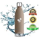 Aorin 750ml Trinkflasche (Braun) - 2