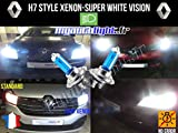 Ampoules H7 Blanc Look Xénon - Renault Megane III Estate