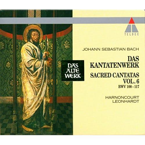 """Cantata No.110 Unser Mund sei voll Lachens BWV110 : II Aria - """"Ihr Gedanken und ihr Sinnen"""" [Tenor]"""