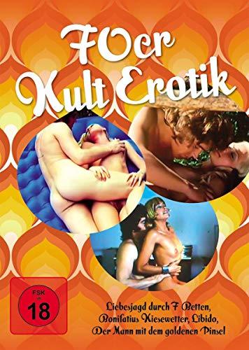 70er Jahre Kult Erotik (4 Dvds)