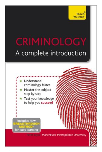 Criminology: A Complete Introduction: Teach Yourself (English Edition) por Peter Joyce