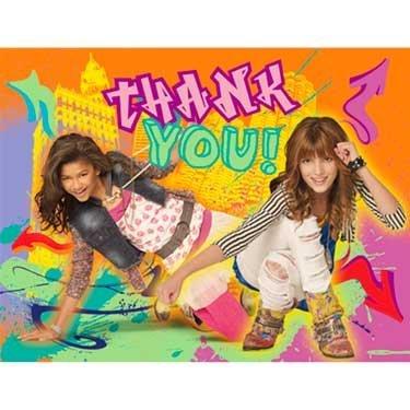 Hallmark 223028 Disney Shake It Up Thank-You ()