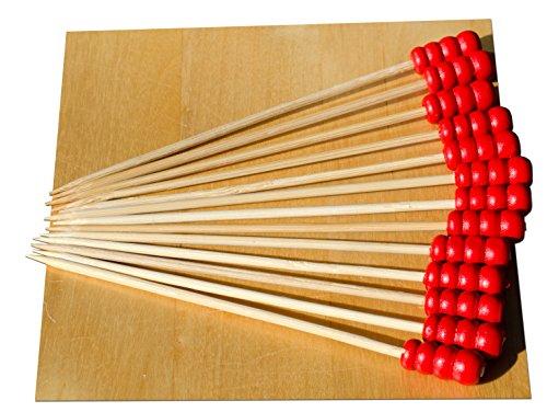 perlina-per-bracciale-componibile-in-argento-colore-rosso-9-cm-con-spiedini-in-legno-100-pz