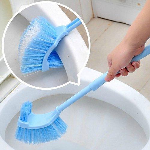 SEGRJ Mehrzweck-WC-Reinigungsbürste mit langem Stiel, Kunststoff Multi