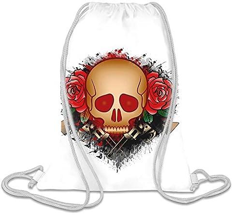 Skull With Guns Sac de cordon