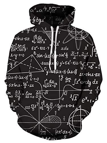 uideazone Math Sweat à Capuche Fille Ado Math Décoration...
