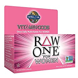 Garden of Life Vitamin Code Raw One For Women 30 Vegetarian Capsules