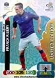 Euro 2012 Adrenalyn XL Limited Edition card Franck Ribery [Toy]