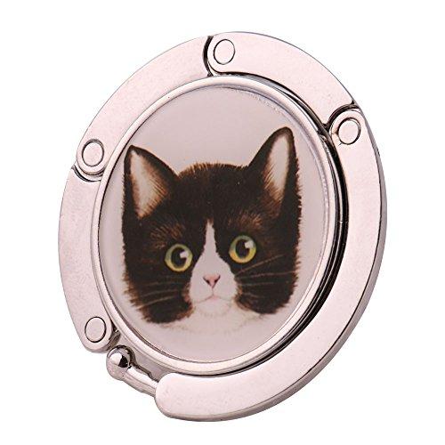 Strass Damen Taschenhalter Handtasche Halter Tisch Dekor - Katze 3