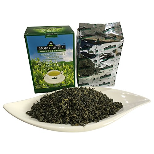 Mokhtar the best amazon price in savemoney mokhtar organic loose 100 natural green tea 500g fandeluxe Gallery