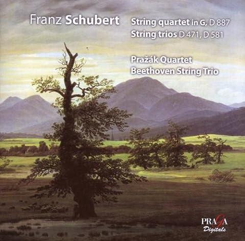 Schubert: String Quartet D 887; String Trios D 471, D 581 [Hybrid SACD]