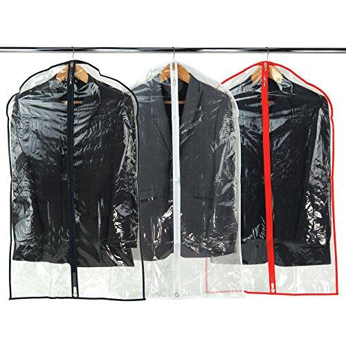 hangerworld-12-custodie-proteggi-abiti-in-plastica-trasparente-con-bordi-e-finiture-in-colori-assort