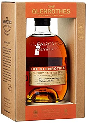 Glenrothes Sherry Cask Reserve mit Geschenkverpackung Whisky (1 x 0.7 l)