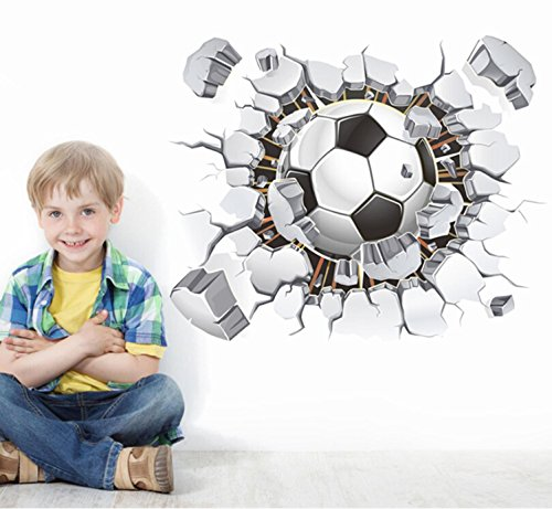 Preisvergleich Produktbild GAOJIAN Stereo Sport Fußball Aufkleber Studenten Schlafsaal Jungen Kindergarten Kinder Zimmer Wanddekoration
