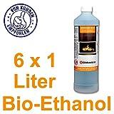 Bio-Ethanol 6 x 1 L 96