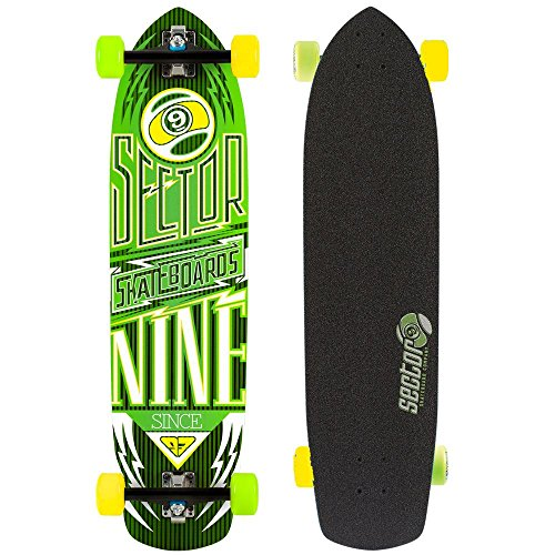 sector-9-longboard-carbone-flight-factory-complet-jaune-914-x-229-cm