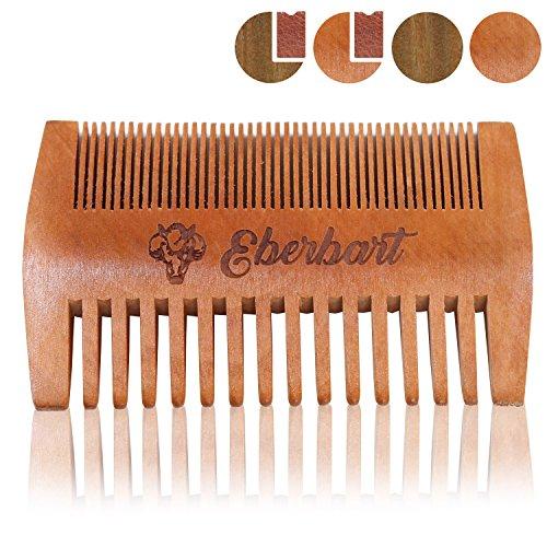 Eberbart Peine Barba | Peine madera auténtica antiestática