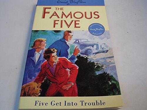 Enid Blyton's Five get into trouble