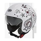 Helm Helmet Jet Premier Rocker CT8S
