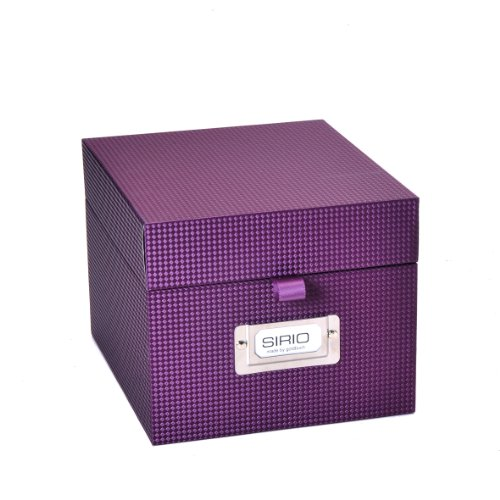 Foto-CD-Box netto Sirio violett