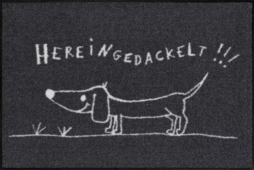 Felpudos Perros (50 x 75 cm), diseño de perro salchicha