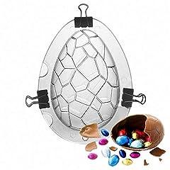 Idea Regalo - Mondeer Stampo per Uova di Pasqua di Grandi Dimensioni - Gigante Egg Maker Surprise, Uovo di Dinosauro Stampo in plastica Alimentare per Torta al Cioccolato Jello Strumento di Decorazione