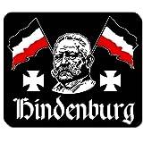 Paul di Hinden Burg Prussia cancelliere Presidente Repubblica di Weimar Chef feldmaresciallo Wk politici–Mouse Mousepad Computer PC Laptop # 16651