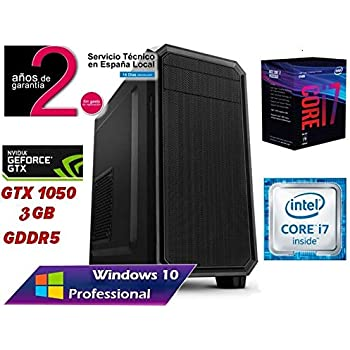 PC Ordenador SOBREMESA Gaming Intel Core i7 up to 4,2Ghz x 4 Quad ...