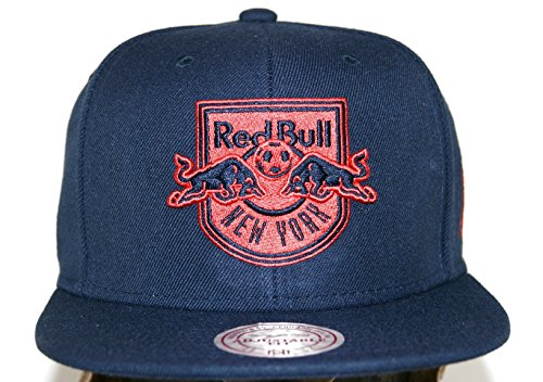 Mitchell & Ness Herren Caps / Snapback Cap Mitchell & Ness Solid Teams Siren New York Red Bulls Snapback Cap