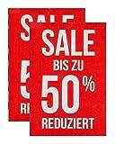 Plakate 2 Stück aus Papier 150g/qm 58,4 x 83,2 cm SALE BIS ZU 50% REDUZIERT ohne Rahmen Werbesymbol