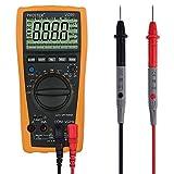 Rango Automático Multímetro Digital, Proster Multímetros Amp/ Ohm / Voltímetro Digital, Multi Tester con la Prueba de la Capacitancia y de la Temperat