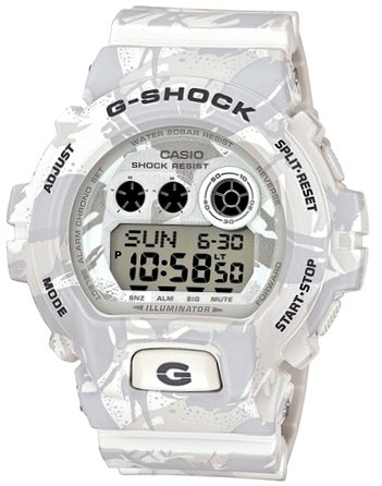 CASIO G-SHOCK Mod.GD-X6900MC7DR CAMO SERIE Shock Magnetic resistant Resin Case Strap Super Illuminator World time 29 zones - 3 daily alarms Snooze alarm Hourly Time Signal Countdown Timer Full aut