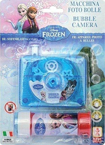 S LTD Disney Frozen Bubble Blowing Kamera Indoor Outdoor Kids Party Bag FÜLLER Spielzeug ()