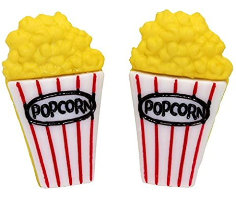 Bluebubble AMERICAN DINER Cinema Sweet Popcorn Stud Earrings With FREE Gift Box