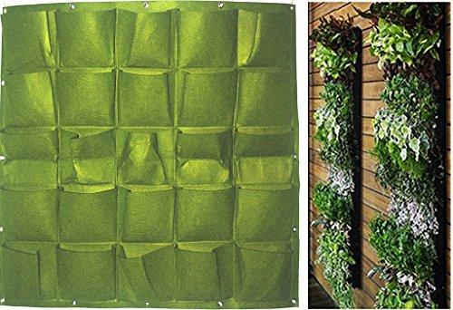 yino fioriera da giardino verticale, da parete , green, 25 bags