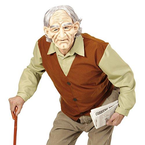 Imagen de traje de señor mayor disfraz abuelo xl 54 outfit abuelete carnaval accesorios fiesta mal gusto ropa anciano traje carnaval jubilado alternativa