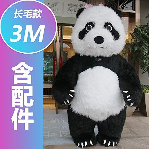 YYYDHW Giant Panda Cartoon Doll Kleidung Net Cartoon Doll Kostüm Puppe@Großer Panda 3 Meter_Eine - China Doll Baby Kostüm