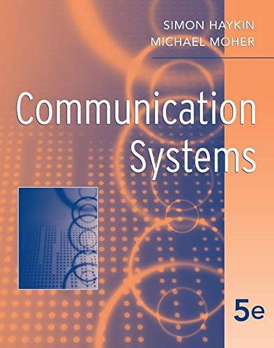 Communication Systems by Simon Haykin (2009-03-16)
