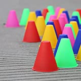 Trainingsmarkierungshütchen Slalom Skate Stapel Cup-zufällige Farbe