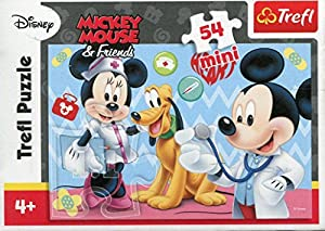 Puzzle 54 Mini Myszka Miki i Przyjaciele Miki i Pluto